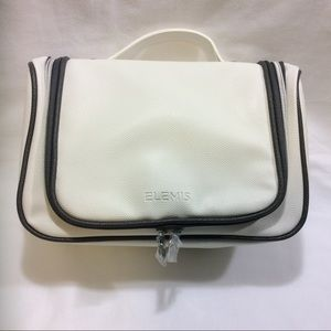 *NEW* ELEMIS WHITE / GRAY COSMETIC / JEWELRY BAG